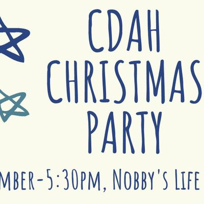 CDAH Catch Up Crew Christmas Party 2019