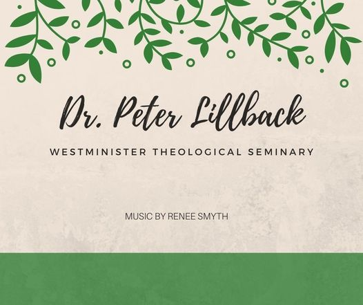 Dr. Peter Lillback, 15 August   Event in Holland   AllEvents.in