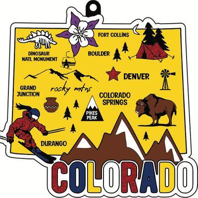 2021 Race Thru Colorado 5K 10K 13.1 26.2 -Participate from Home Save 5