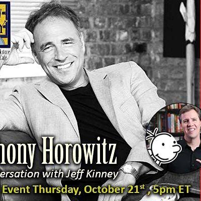 Anthony Horowitz  Virtual Event