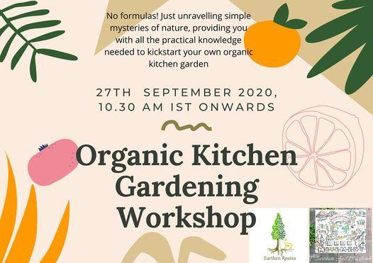 Organic kitchen gardening Workshop  Lifetime Support 1200 INR