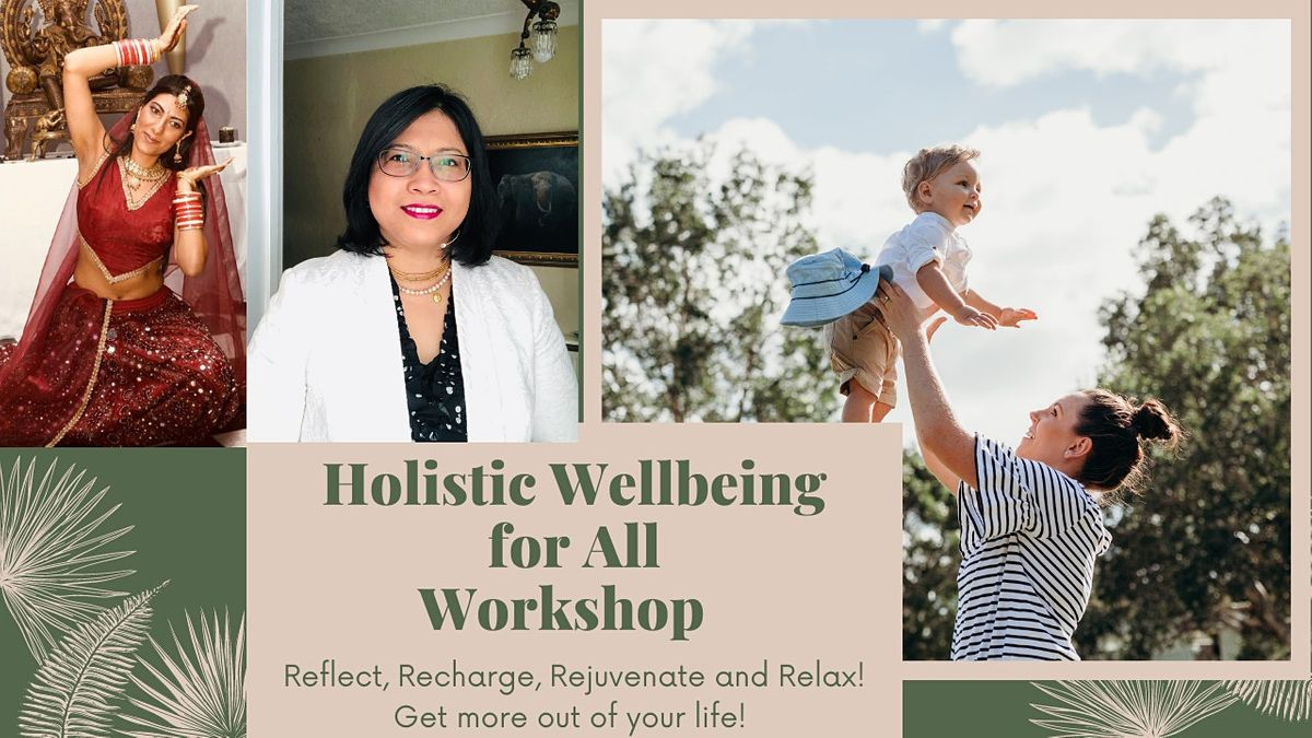 Holistic Wellbeing, Dance, Mindful Yoga Workshop | Online Event | AllEvents.in
