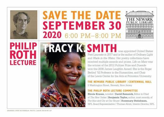 2020 Philip Roth Lecture Tracy K. Smith