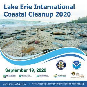Lake Erie International Coastal Cleanup 2020