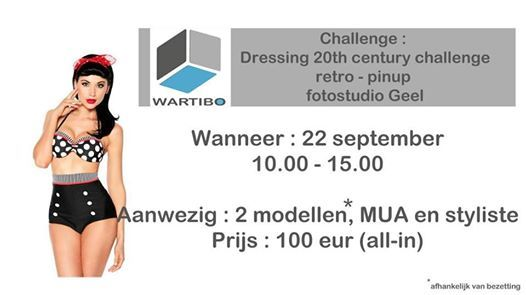 Challenge Dressing 20th century - retro - pinup