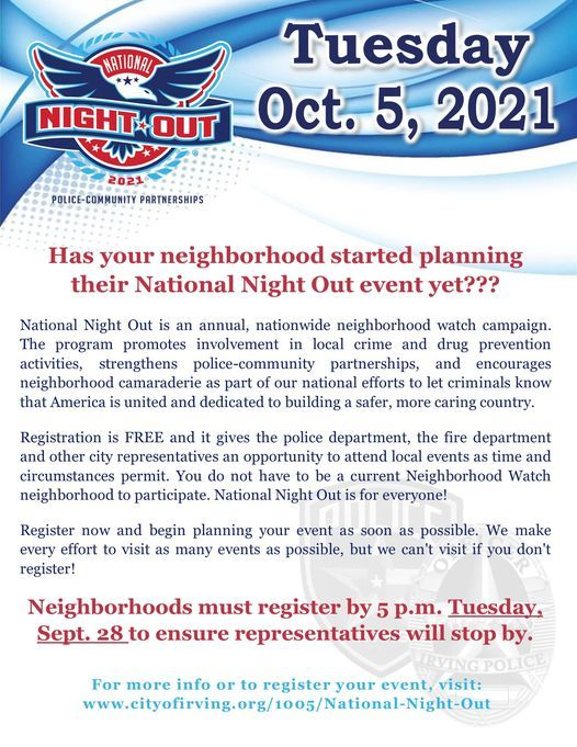 National Night Out, 5 October | Event in Lakewood | AllEvents.in