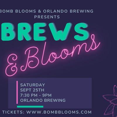 Brews & Blooms Create your own succulent arrangement workshop