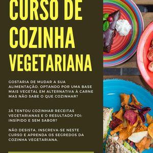 Curso de Cozinha Vegetariana- As receitas da Pacham