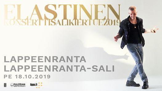 Elastinen  18.10.  Lappeenranta-sali