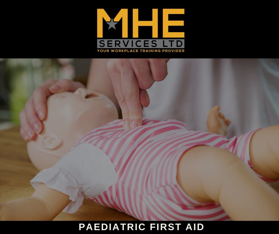 Paediatric First Aid - Level 3 Award