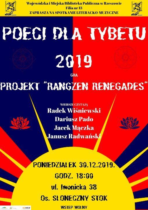 Poeci Dla Tybetu Rzeszów 2019 At Ulica Iwonicka 38 35 119