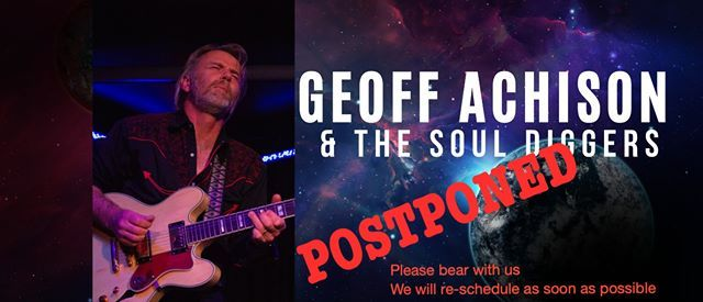 Geoff Achison & The Souldiggers Re-Launch