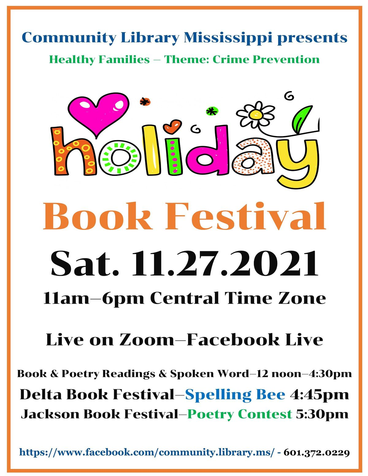 Holiday Book Festival, 27 November | Online Event | AllEvents.in