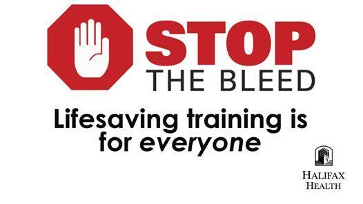 Stop the Bleed - Free Lifesaving Training