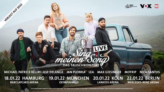 Sing meinen Song - Das Tauschkonzert, 20 January   Event in Cologne   AllEvents.in