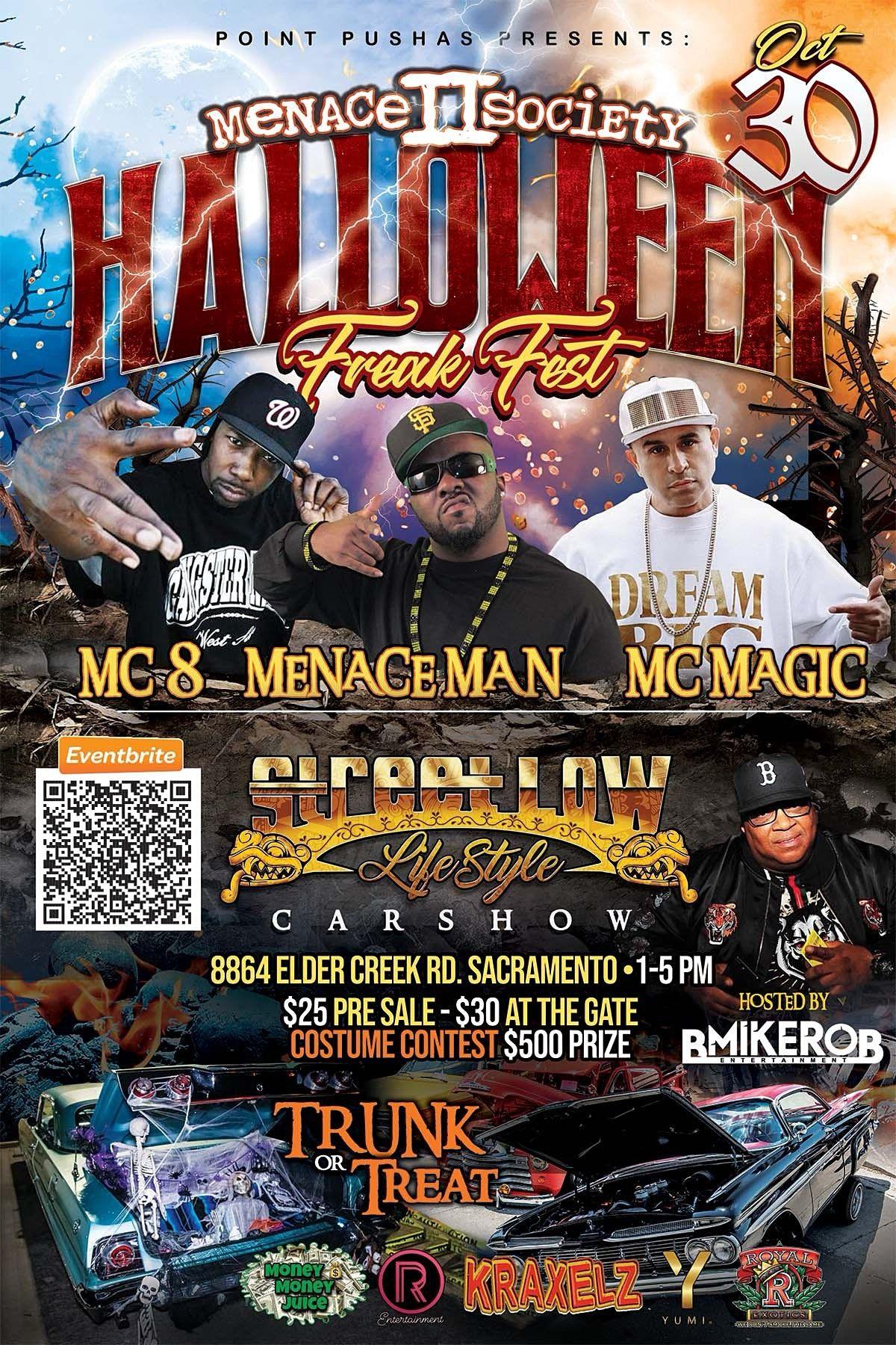 Menace II Society  Halloween Freak Fest, 30 October   Event in Sacramento   AllEvents.in