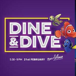 DINE & DIVE - Movie night under the stars (K99 p.p.)