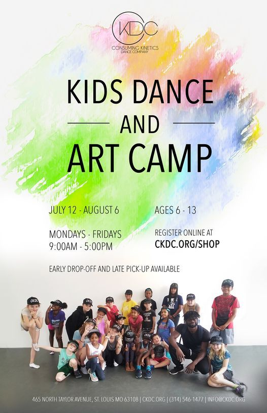 Kids Dance and Art Camp: Hip Hop | Event in St. Louis | AllEvents.in