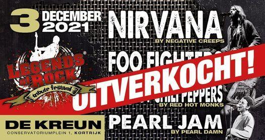 Wordt verplaatst - LEGENDS of ROCK Tribute Festival | De Kreun, Kortrijk (B), 9 April | Event in Kortrijk