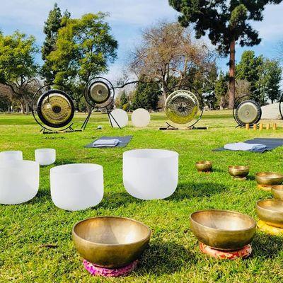 Wellness Wednesday SOUNDBath MEDITATION At  The Park