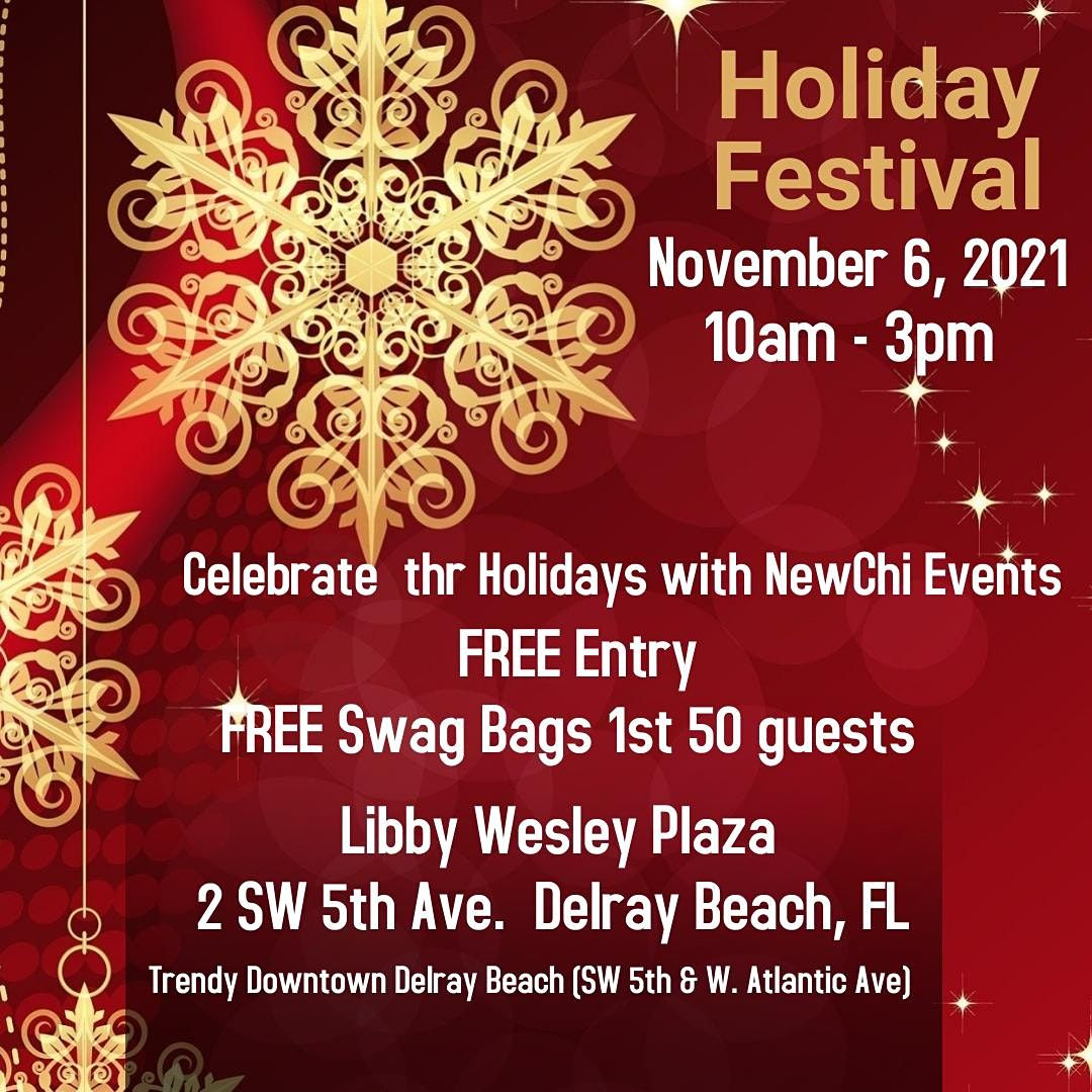 Holiday Festival, 6 November   Event in Delray Beach   AllEvents.in