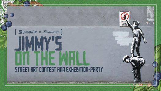 Jimmys on the Wall - Street Art Contest