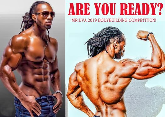 Mr UVA 2019 Bodybuilding Competition at City Fitness Gym