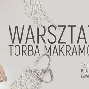 Warsztaty wyplatania torby technik makramy. Szczecin