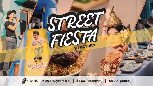 STREET FIESTA by FACTORY, 7 November   Event in Phnom Penh   AllEvents.in