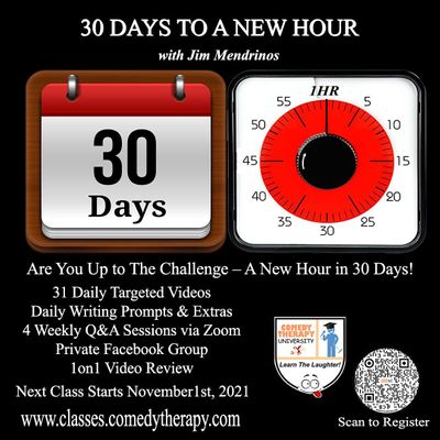 30 Days to a New Hour with Jim Mendrinos