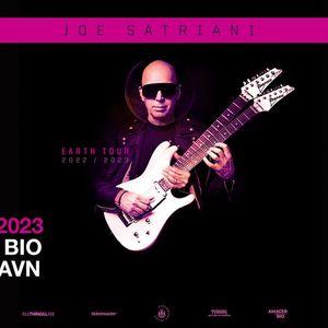 Joe Satriani - F billetter - Amager Bio
