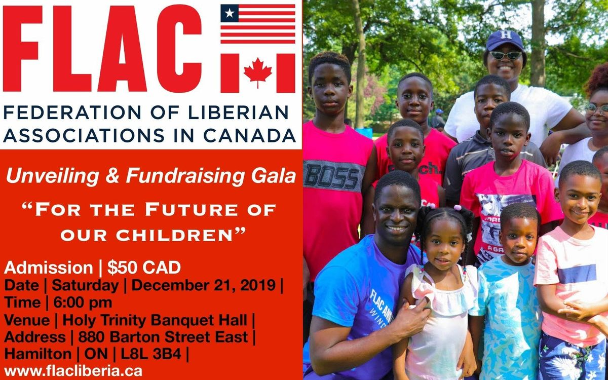 Unveiling and Fundraising Gala