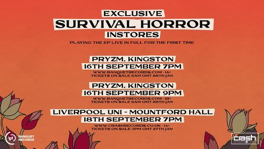 POST HUMAN: SURVIVAL HORROR INSTORE, 18 September   Event in Liverpool   AllEvents.in