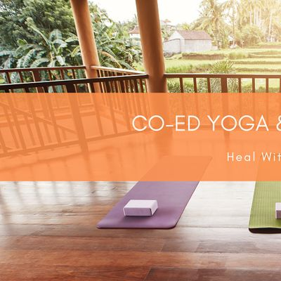 Co-ed Yoga & Sound Bath ONLINE