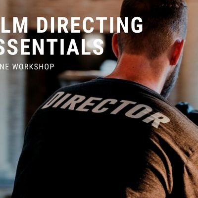 1-Day  Workshop Film Directing essentials