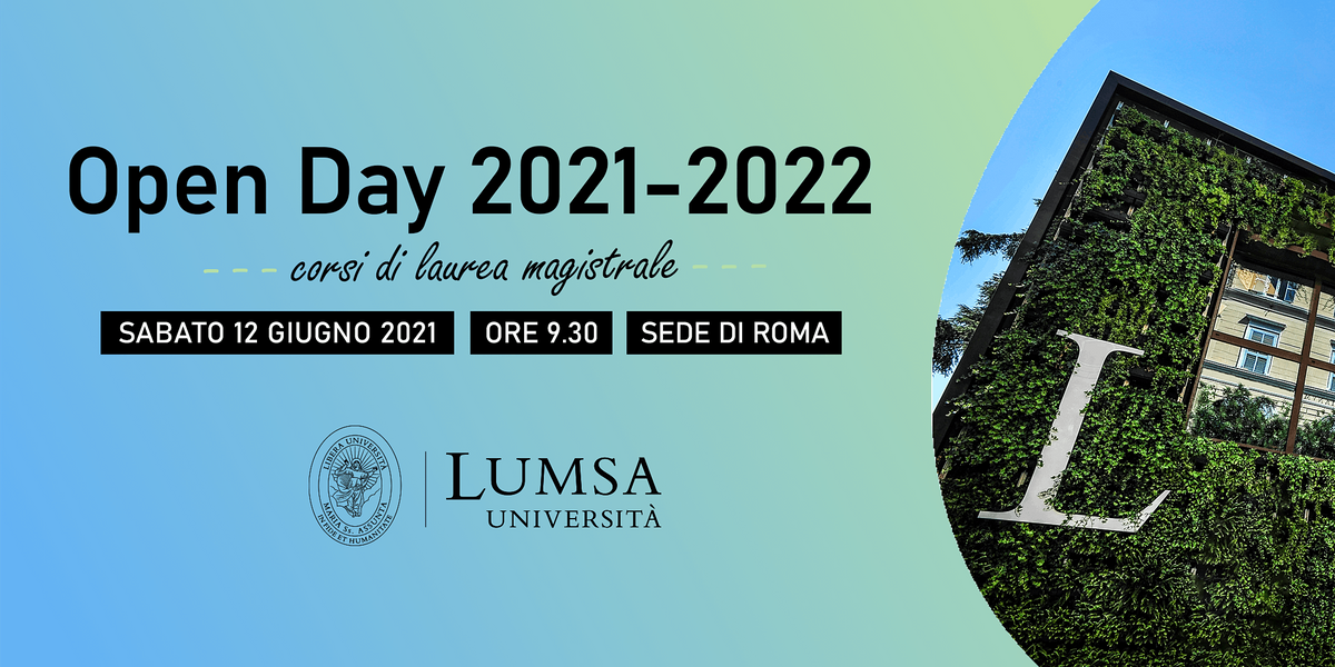 Open Day  Lauree Magistrali - Università LUMSA - Sede di Roma, 12 June | Event in Roma | AllEvents.in