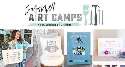 Summer ARt Camp (Series A) - Afternoon