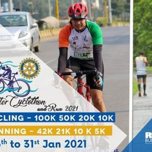 ROC Winter Cyclothon & Run VR 2021