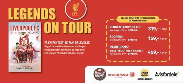 Liverpool - Legends on Tour (Kbenhavn)