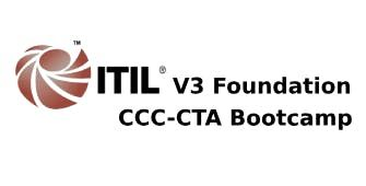ITIL V3 Foundation  CCC-CTA 4 Days Bootcamp in Sheffield