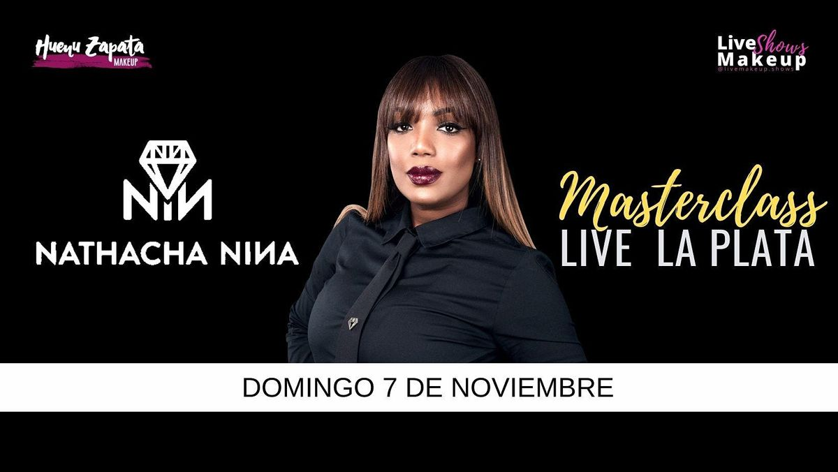 NATHACHA NINA - LA PLATA LIVE -  Huenu Zapata Make, 7 November | Event in City Bell | AllEvents.in