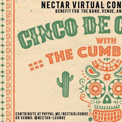 NVCS  presents CINCO DE MAYO LIVESTREAM feat THE CUMBIEROS