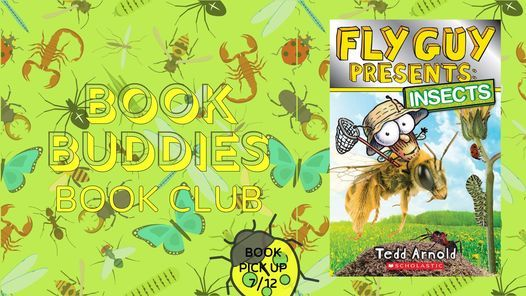 Book Buddies Book Club MEETING: Fly Guy Presents: Insects | Event in Royal Oak | AllEvents.in