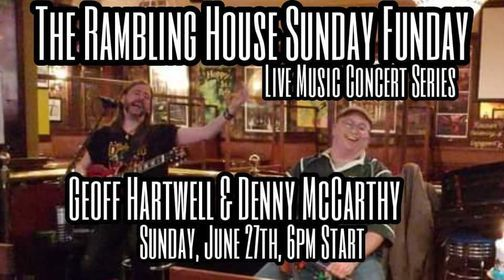 Geoff Hartwell & Denny McCarthy Sunday Funday, 27 June | Event in Pelham Manor | AllEvents.in