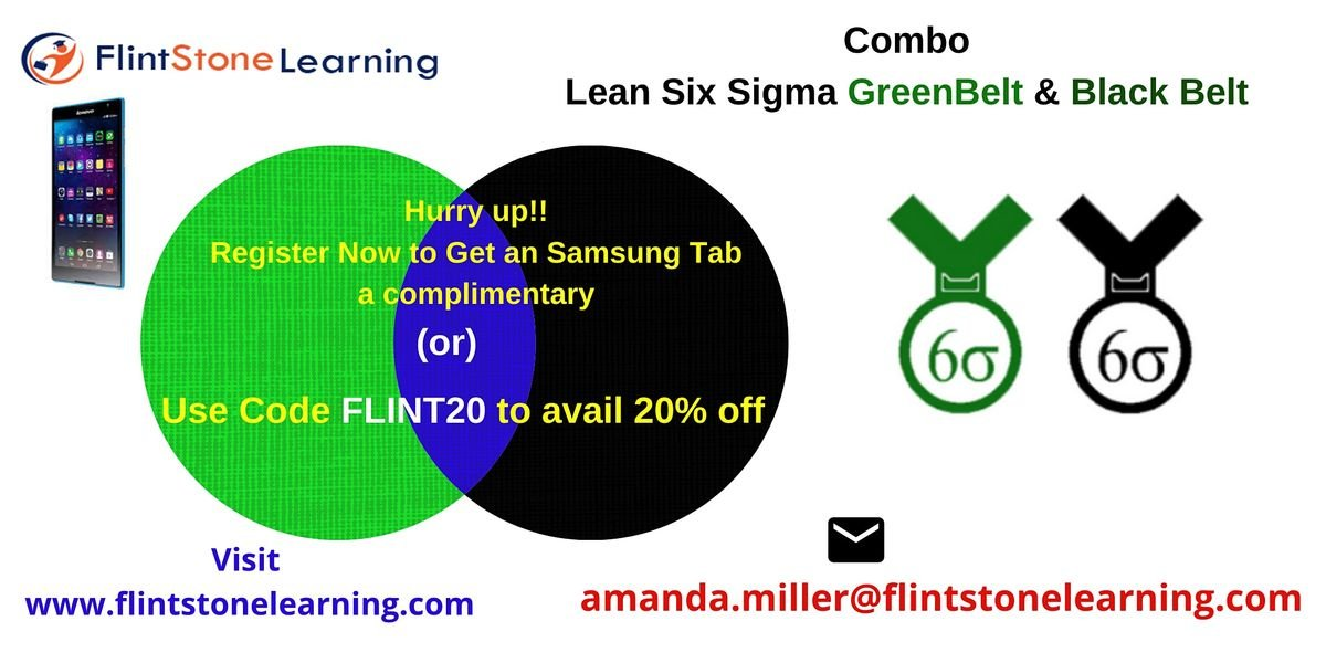 Combo of LSSGB & LSSBB Training Course in Sarnia ON