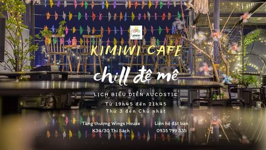 Đêm nhạc acoustic cùng Kimiwi và Du Ca band   Event in Sanhu Dao   AllEvents.in