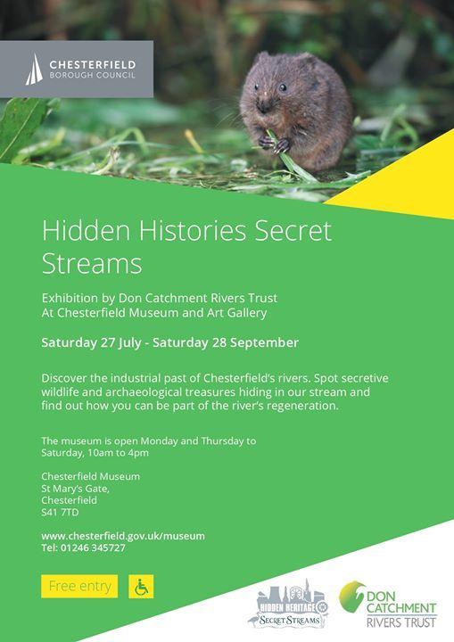 Exhibition Hidden Histories Secret Streams