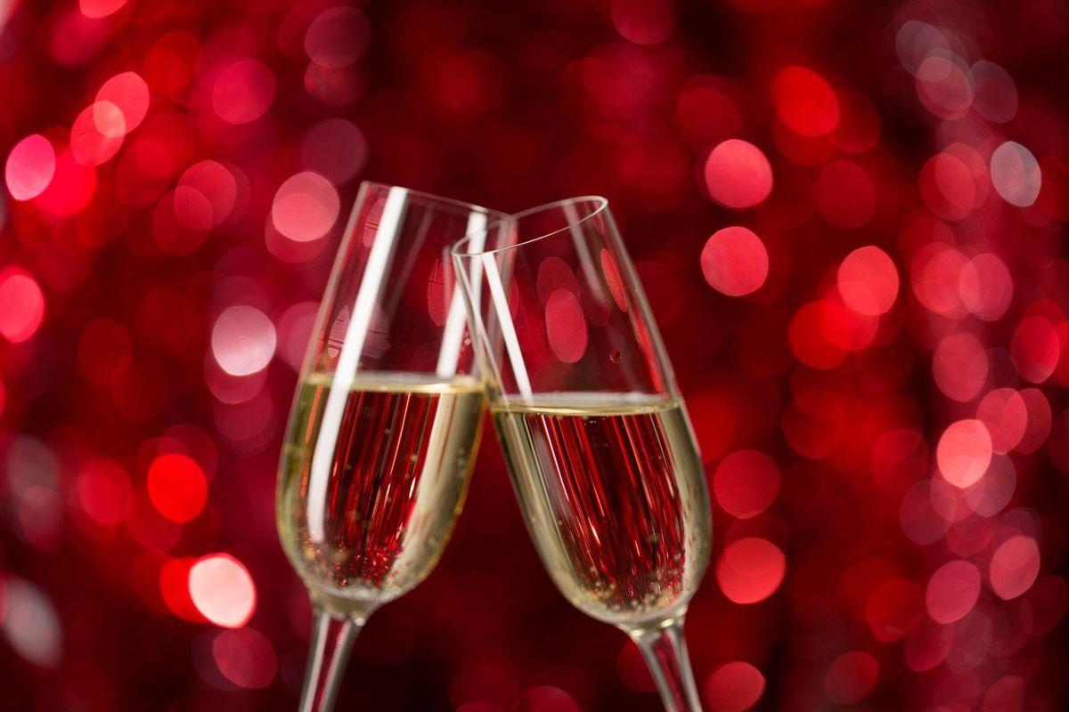 New Years Eve Sparkling Wine Pairing Flight