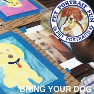 Sip and Paint Pet Portrait Fun at Cafe Bark NYC Upper West Side