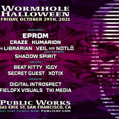 Wormhole Halloween